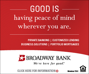 ad for Broadway Bank